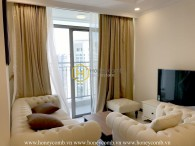 Combination of Asian and Europe style in the apartment of Vinhomes Central Park