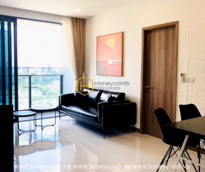 Such an apartment with full amenities and spacious living space for rent in Sunwah Pearl