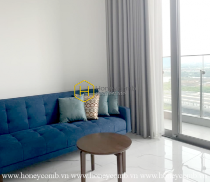 A charming apartment with swimming-pool view in Empire City
