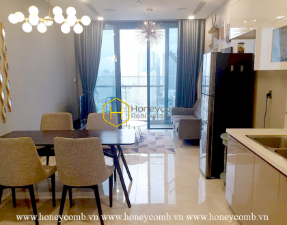 Spacious high-class apartment in Vinhomes Golden River for rent