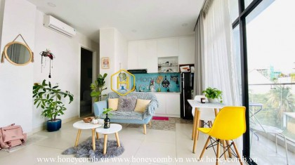 Indulge delicate decoration in District 2 serviced apartment