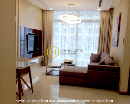 The 2 Bed-Apartment With Comfortable And Simple Design At Vinhomes Central Park