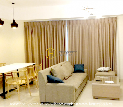 Start an enthusiastic day with this sun-filled apartment for rent in Masteri Thao Dien