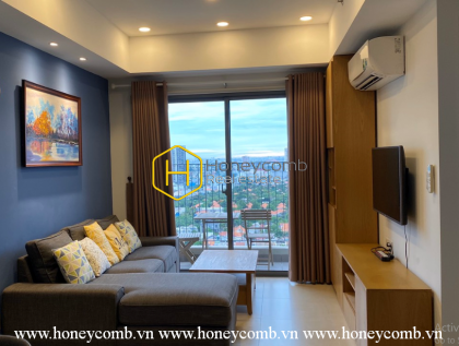 Cozy and cheerful 2 bedrooms apartment in Masteri Thao Dien