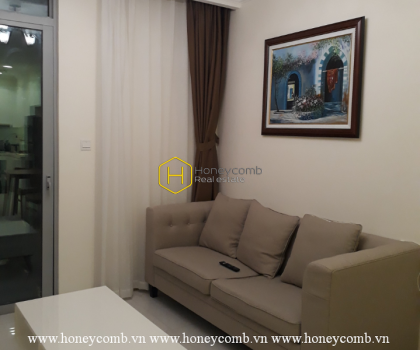 Convenient with 1 bedroom apartment in Vinhomes Central Park