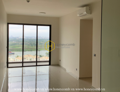 Enjoy the peaceful atmosphere with this unfurnished apartment for rent in Q2 Thao Dien