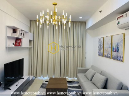 Nice designed with 3 bedrooms apartment river view for rent in Masteri