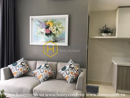 Great decor, simply furnished 2 bedrooms apartment in Masteri Thao Dien for rent