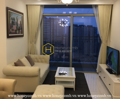Make your dream come true with this classic apartment for rent in Vinhomes Central Park