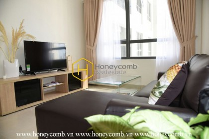 One bedroom apartment with full furniture in Masteri Thao Dien for rent