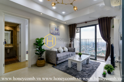 Discover the eco-friendly beauty of this Masteri Thao Dien apartment