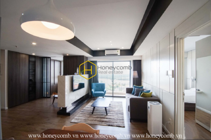 2 beds apartment with modern style and river view in Masteri Thao Dien