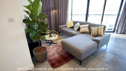 Căn hộ City Garden với 2 phòng ngủ cùng nội thất vô cùng ý tưởng, hiện cho thuê