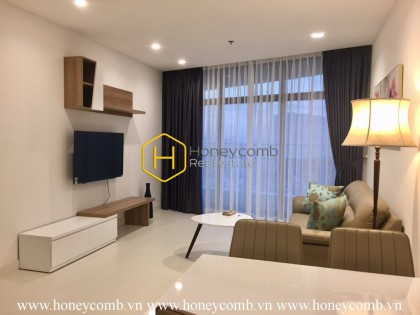 A deluxe and trendy apartment for rent in City Garden