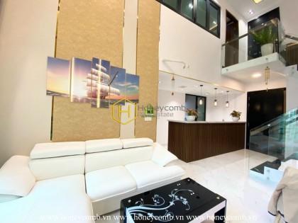 An ideal duplex for rent in Feliz En Vista defies all standards of beauty