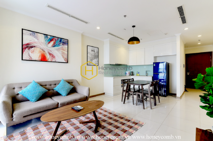 Enjoy a wonderful life in this eco-friendly apartment for rent in Vinhomes Central Park