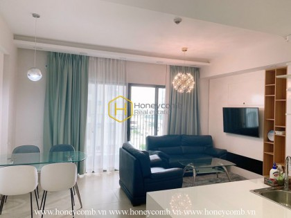 Beautiful modern 2 bedrooms apartment in Masteri Thao Dien for rent