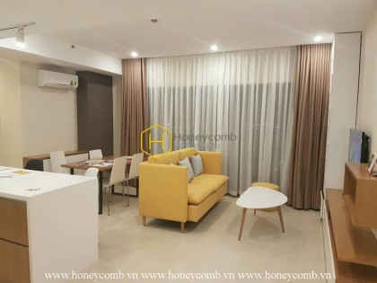 Two bedroom apartment for rent in Masteri, park view, high floor