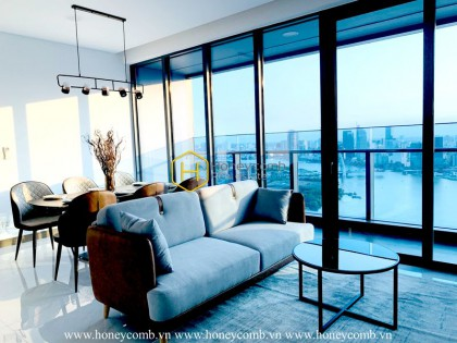 This Sunwah Pearl apartment represents 21st century architectural heritage