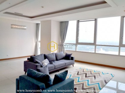 Good view 3 bedrooms apartment in Xi Riverview Palace
