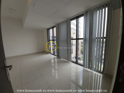Be creative with this modern unfurnished apartment for rent in The Sun Avenue