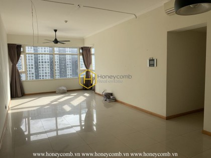 Elegant layout in this unfurnished apartment for rent in Saigon Pearl
