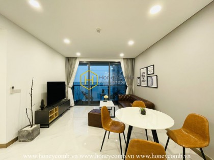You will be fascinated by aesthetic interior design in Sunwah Pearl apartment