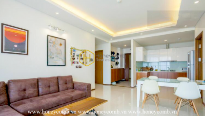 What the wonderful 2 bedrooms apartment in Thao Dien Pearl