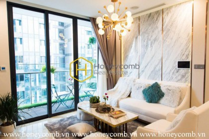The ravishing 3 bedrooms apartment will make you like it in Vinhomes Golden River