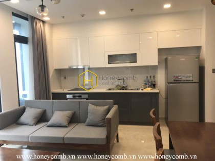 This 2 bedrooms-apartment is really excellent in Vinhomes Golden River