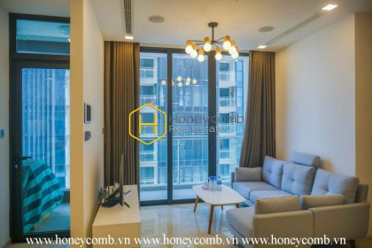 What a desirable 2 bedrooms-apartment in Vinhomes Golden River