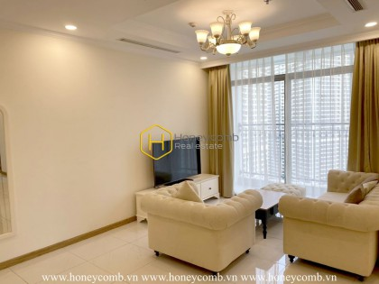 Warning: The beauty of this apartment for rent in Vinhomes Central Park will drive you crazy!