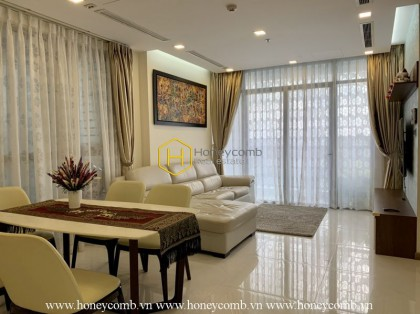Harmonize with this stunning apartment with neoclassical design in Vinhomes Central Park