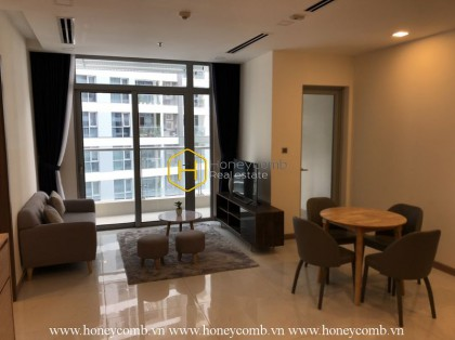 2-bedroom apartment with lovely and sweet decor in Vinhomes Central Park