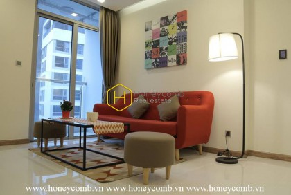 Interfusion of youthful and urban style in this Vinhomes Central Park apartment will make you impressed