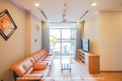 Convenient and spacious apartment with 2 bedrooms in Vinhomes Central Park.