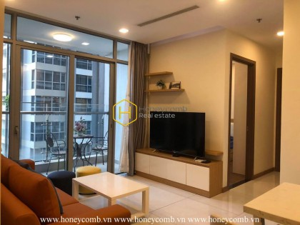 Fully furnished and elegant apartment for rent in Vinhomes Central Park