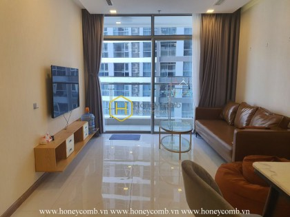 This graceful apartment in Vinhomes Central Park will give the very soothing feeling to you