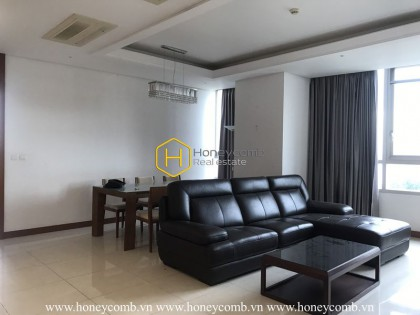 Modern architecture apartment with old-fashioned interiors for rent in Xi Riverview