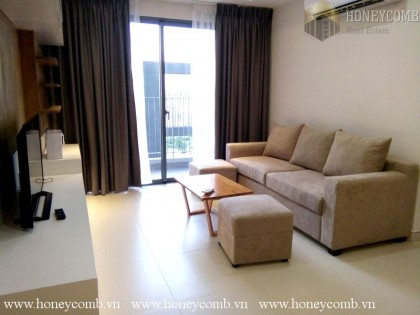 Two bedroom apartment with low floor in Masteri
