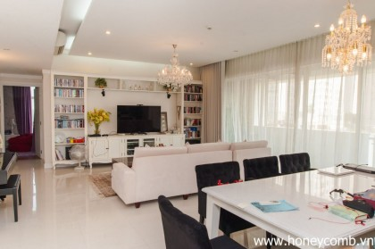 Fantastic 3 bedrooms apartment for rent in The Estella