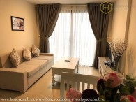 Nice decoration 2 beds apartment with high floor in Masteri Thao Dien