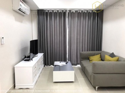 Simple furnished 2 beds apartment in Masteri Thao Dien