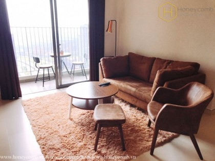 2 bedrooms with deluxe furniture, exquisite for rent at Masteri Thao Dien