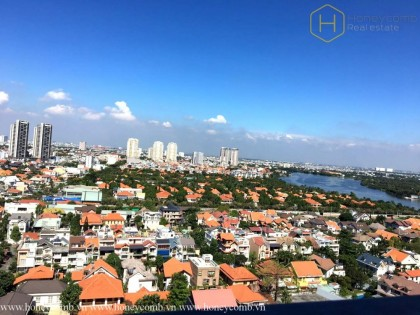 Great! 2 beds apartment with nice view in Masteri Thao Dien