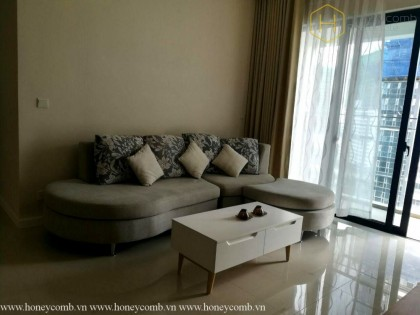Simple furnished 2 beds apartment in The Estella Heights