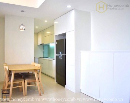 Leased 2 bedrooms apartment in Masteri Thao Dien for rent