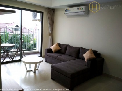 3 bedrooms apartment with middle floor in Masteri Thao Dien