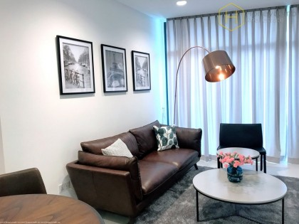 Luxury design 1 beds apartment in City Garden for rent