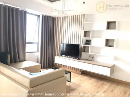 Luxury design 2 bedrooms apartment in Masteri Thao Dien for rent